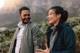 Couple Discusses Uncommunicated Expectations While on a Hike